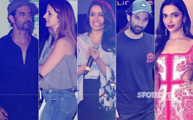 STUNNER OR BUMMER: Hrithik Roshan, Sussanne Khan, Shraddha Kapoor, Aditya Roy Kapur Or Deepika Padukone?