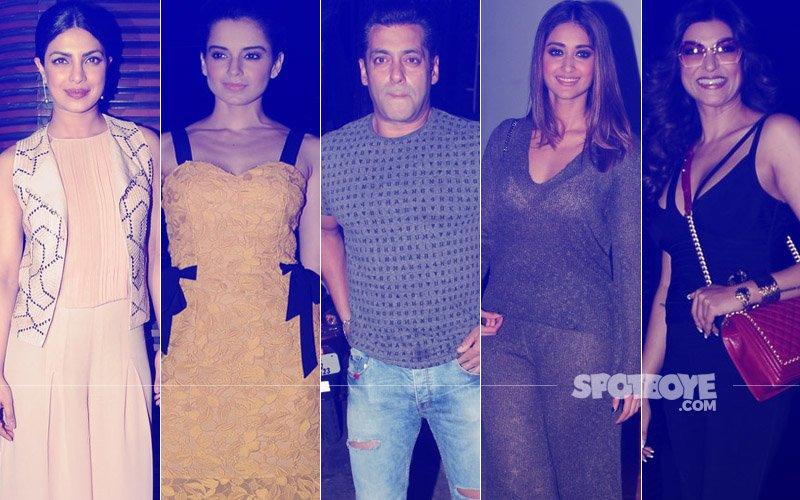 STUNNER OR BUMMER: Priyanka Chopra, Kangana Ranaut, Salman Khan, Ileana D'Cruz Or Sushmita Sen?
