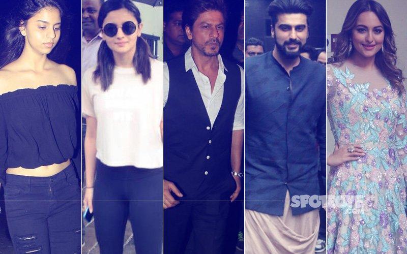 STUNNER OR BUMMER: Suhana Khan, Alia Bhatt, Shah Rukh Khan, Arjun Kapoor Or Sonakshi Sinha?