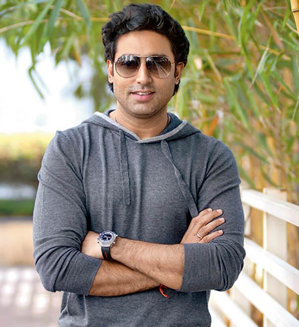 bollywood star abhishek bachchan