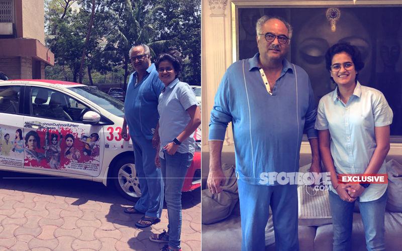 Boney Kapoor Gets Emotional Seeing The Sridevi Car