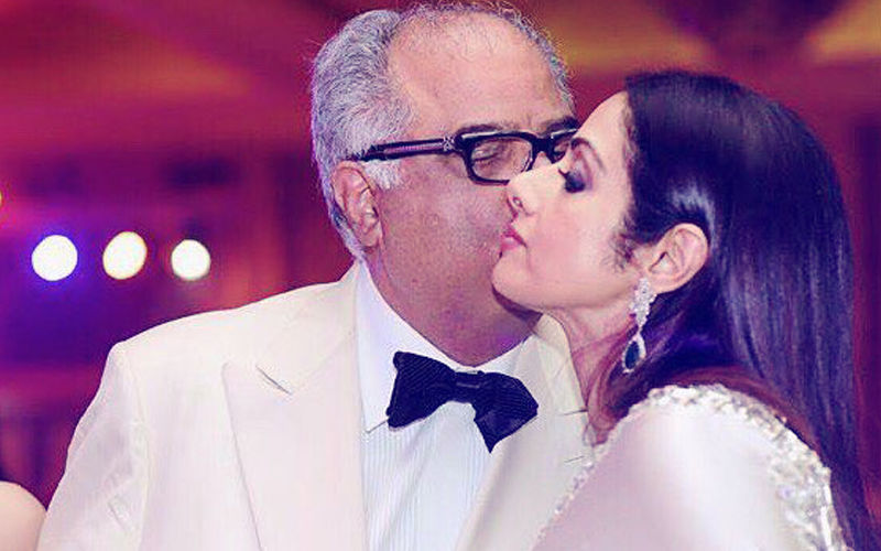 Boney Kapoor's Emotional Message For His 'Jaan' Sridevi On Their 22ND Wedding Anniversary