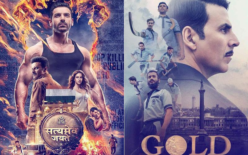 Gold, Satyamev Jayate Box Office Collection Day 2: Satyamev Jayate Goes Neck To Neck With Gold!
