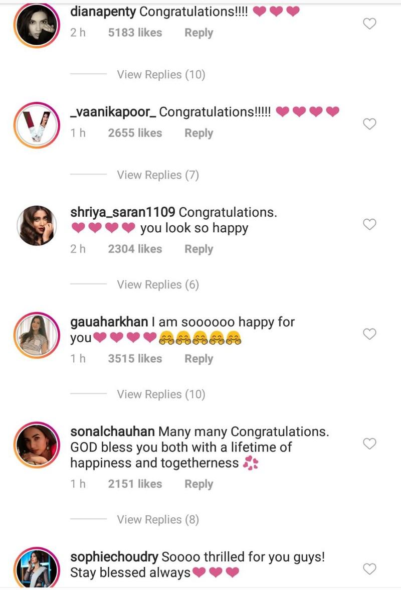 celebs wishing priyanka chopra on her engagement 4