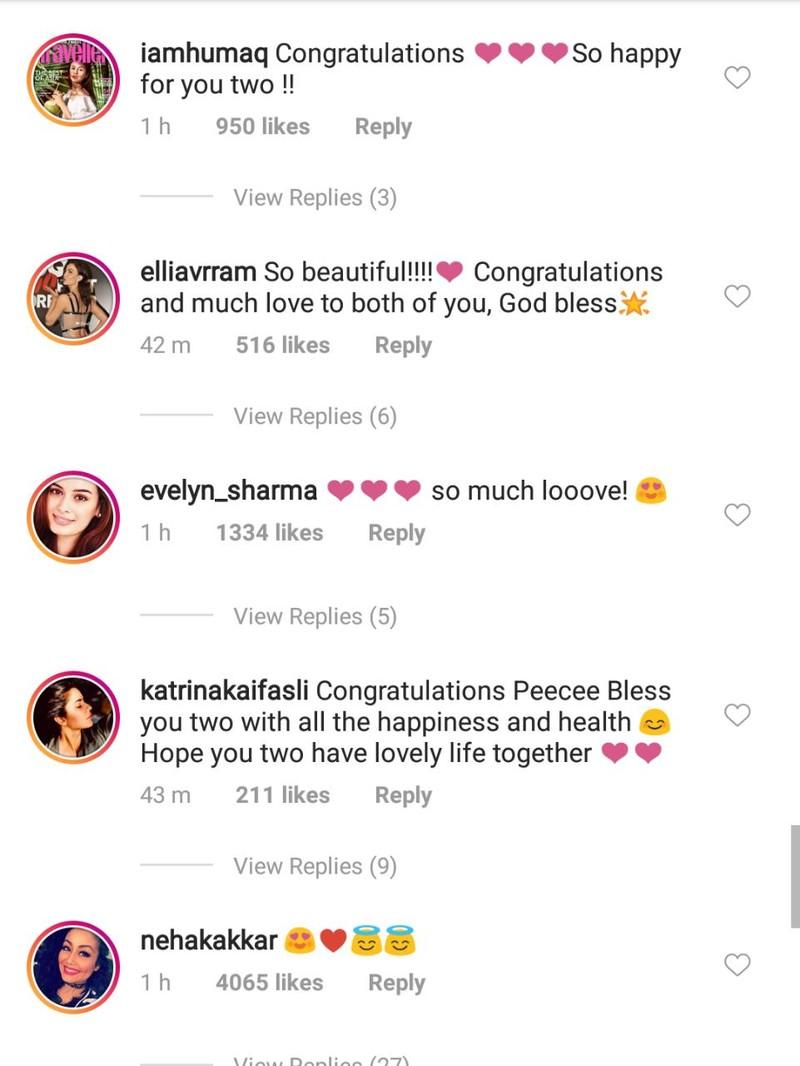 celebs wishing priyanka chopra on her engagement 6