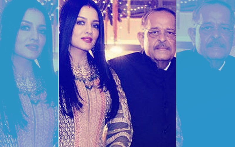 A Pregnant Celina Jaitly Rushes To India After Father VK Jaitly Passes Away