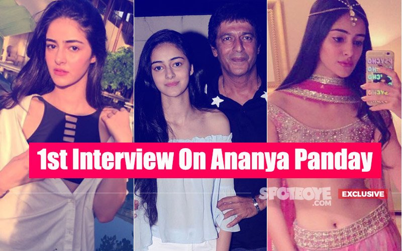 Here's Everything About Ananya Panday: Papa Chunky In An Exclusive Interview