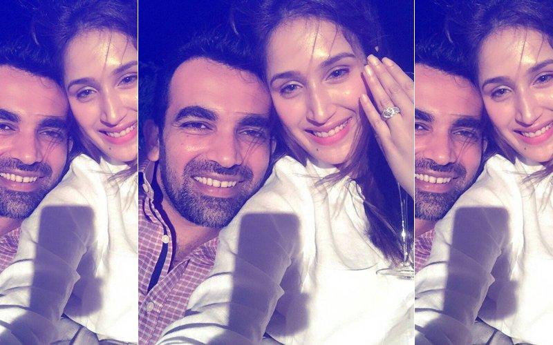 Zaheer Khan Gets Engaged To Chak De! Girl Sagarika Ghatge