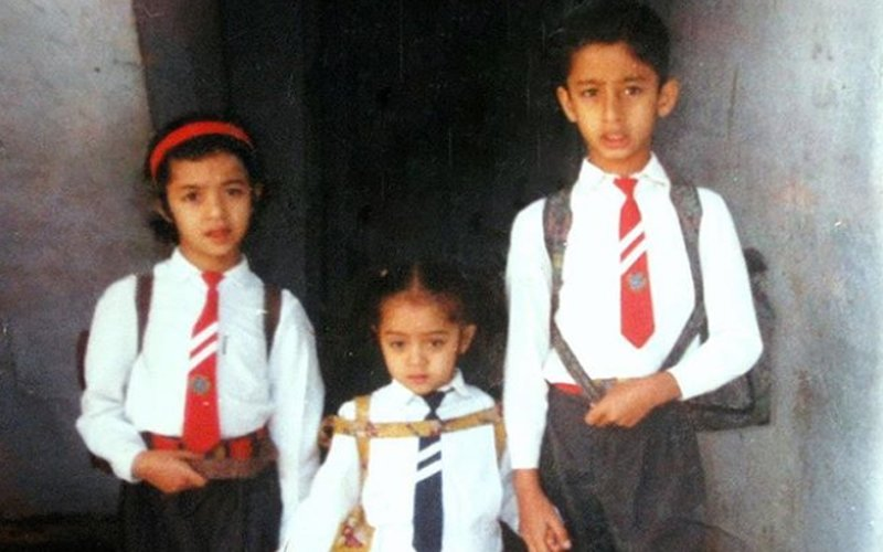 Can You Guess The Cute School Kid In This Pic? Hint: He Is A TV Heartthrob