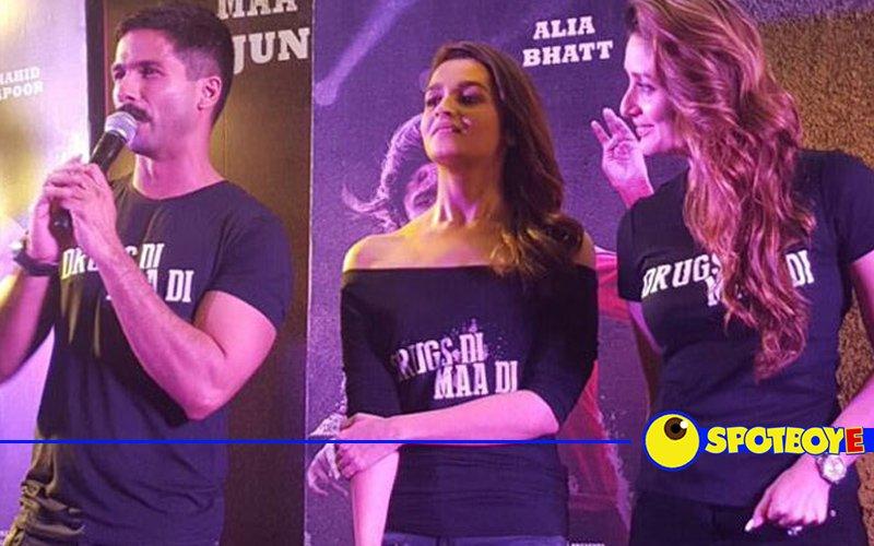 Ex-flames Shahid-Kareena break the ice at Udta Punjab trailer launch