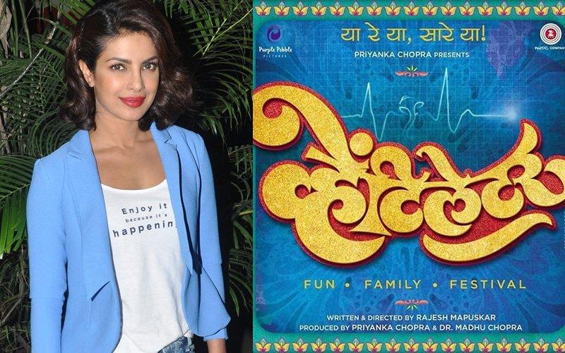Priyanka Shares The First Poster Of Her Marathi Film Ventilator