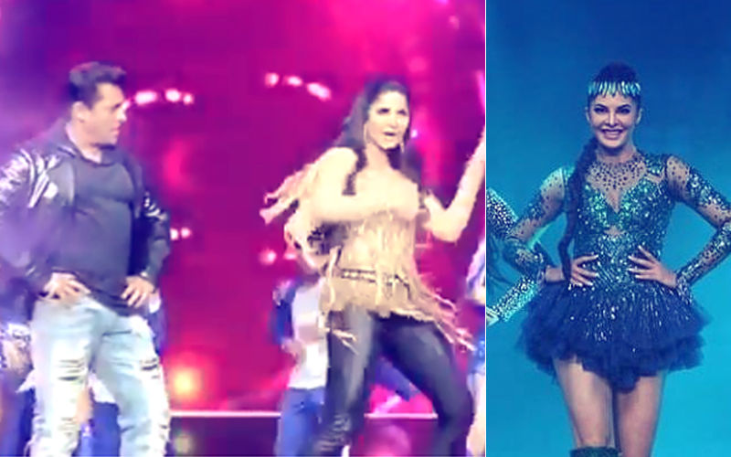 Dabangg Tour Vidoes: Salman Khan Watches Katrina Kaif Groove; Jacqueline Fernandez Sets The Stage On Fire