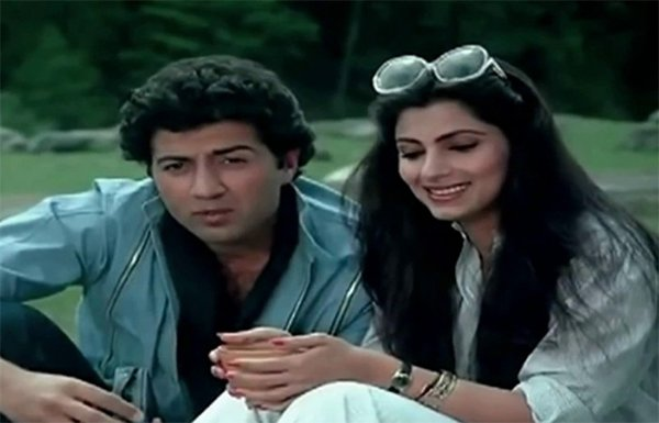 sunny deol and dimple kapadia in manzil manzil