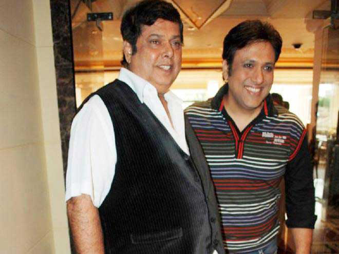 david dhawan with govinda