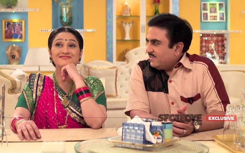 Pics: Disha Vakani Aka Dayaben Back On Taarak Mehta Ka Ooltah Chashmah Sets After Maternity Leave