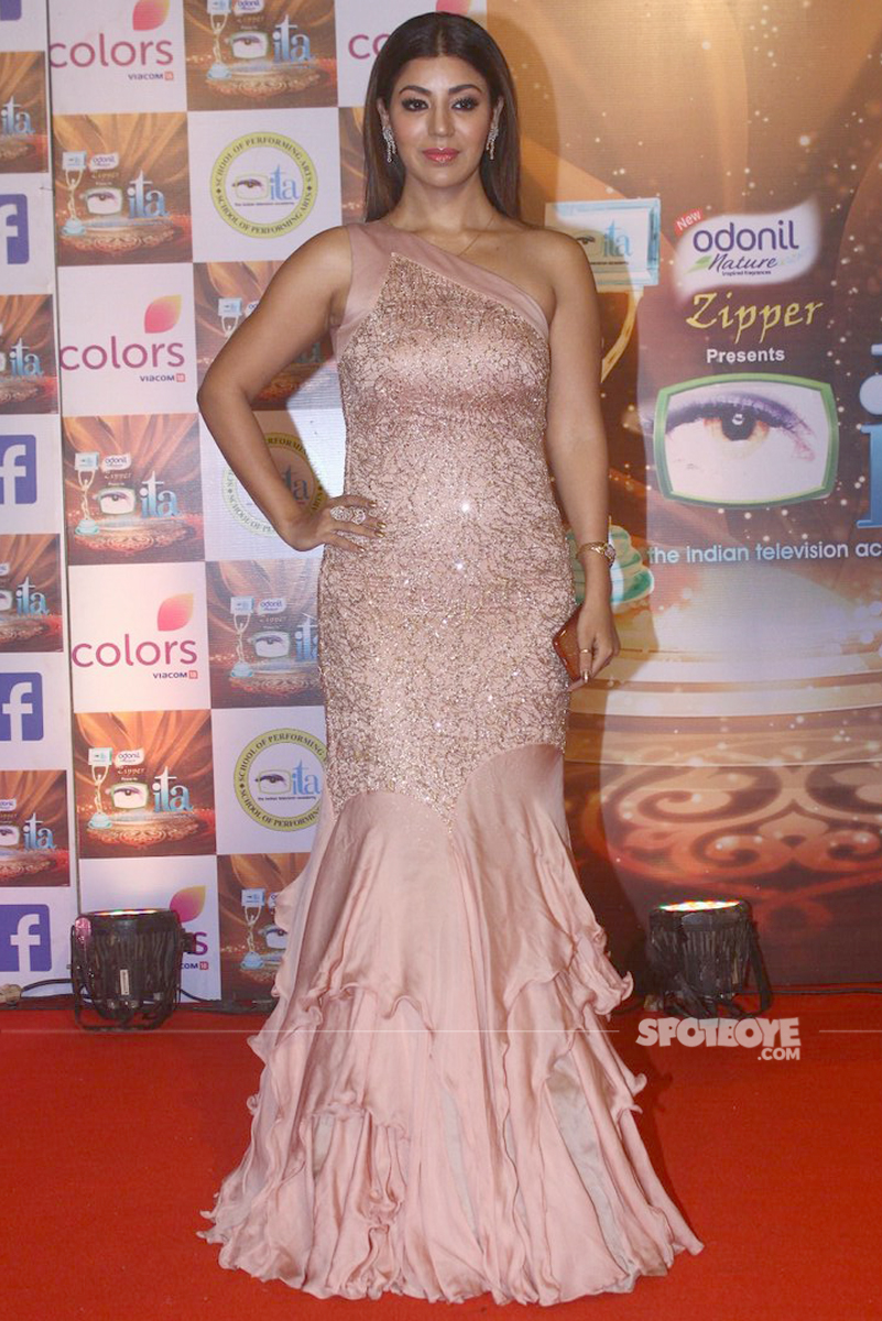 debina bonnerjee at the ita awards
