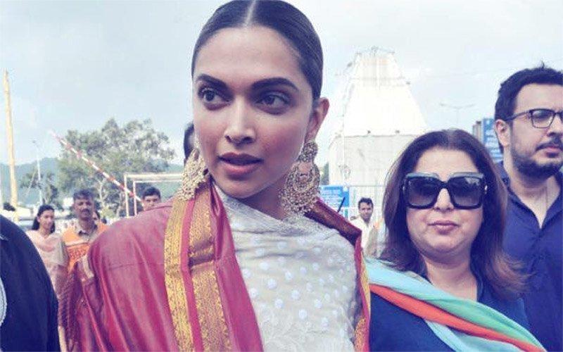 Deepika Padukone & Farah Khan Seek Divine Blessings At Tirumala Temple