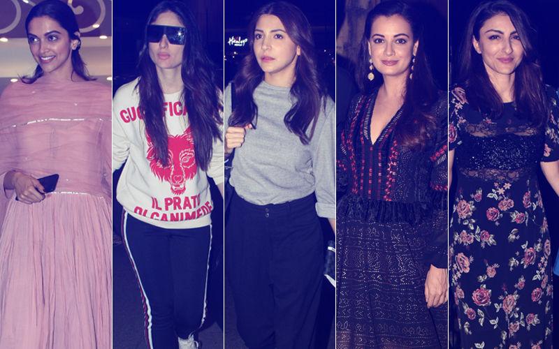 झकास या बकवास: सोहा अली खान, दीपिका पादुकोण, करीना कपूर, अनुष्का शर्मा और दिया मिर्जा?