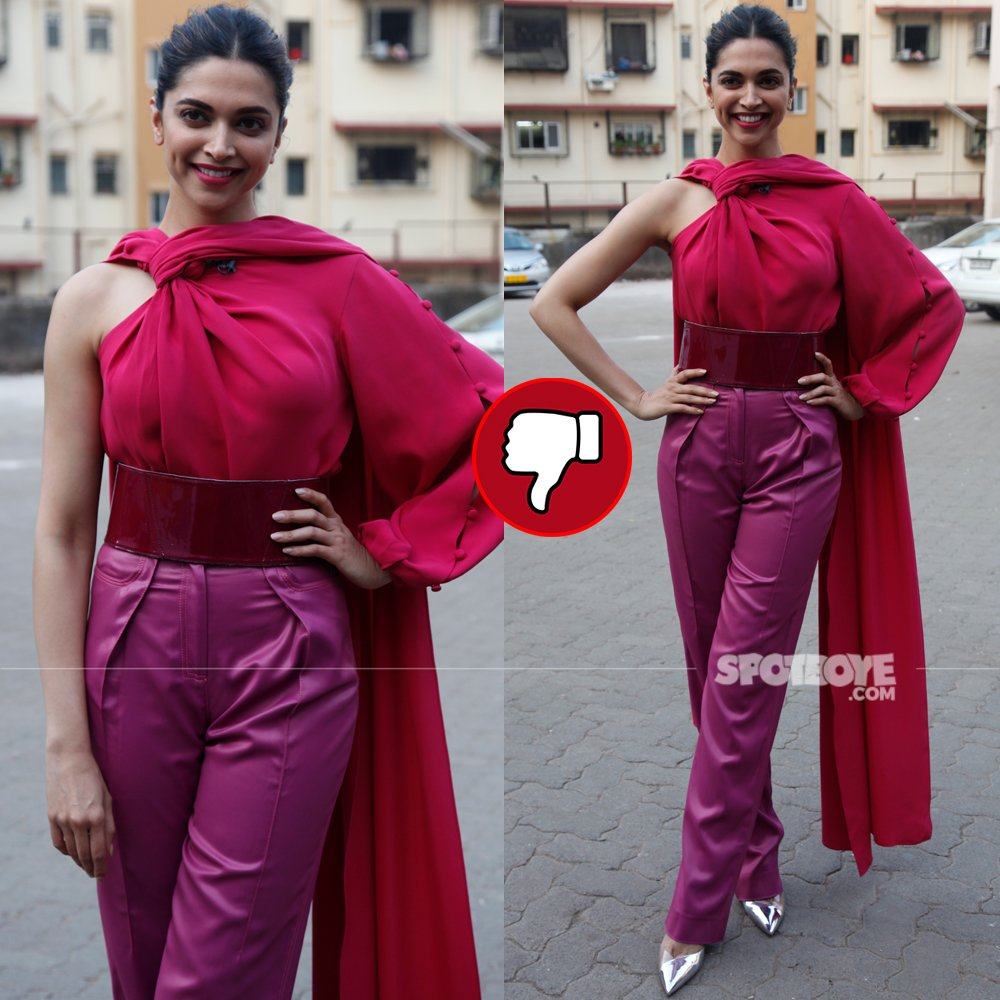 deepika padukone snapped post padmavati promotions