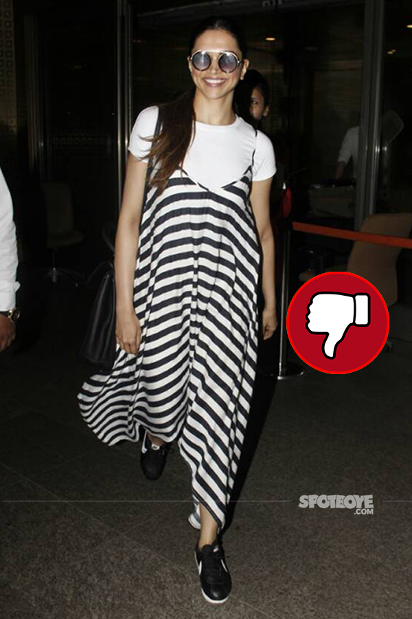 deepika padukone snapped at mumbai airport returning from bangalore
