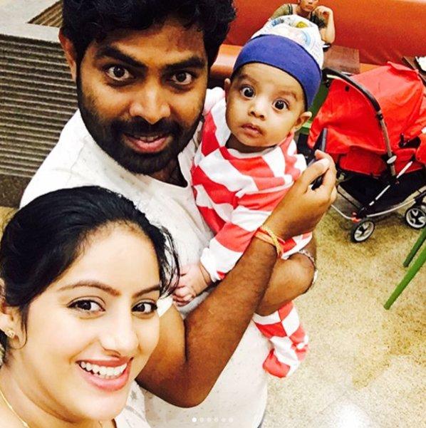 deepika singh rohit raj goyal and baby soham