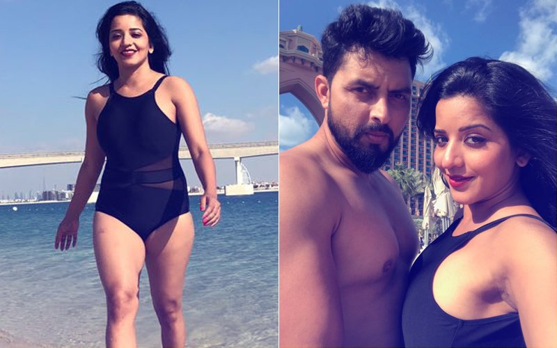 12 Pics Of SWIMSUIT Babe Mona Lisa SLAYING It With Hubby In Dubai