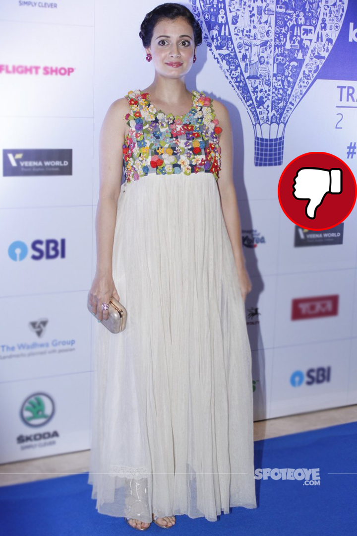 dia mirza at lonely planet awards