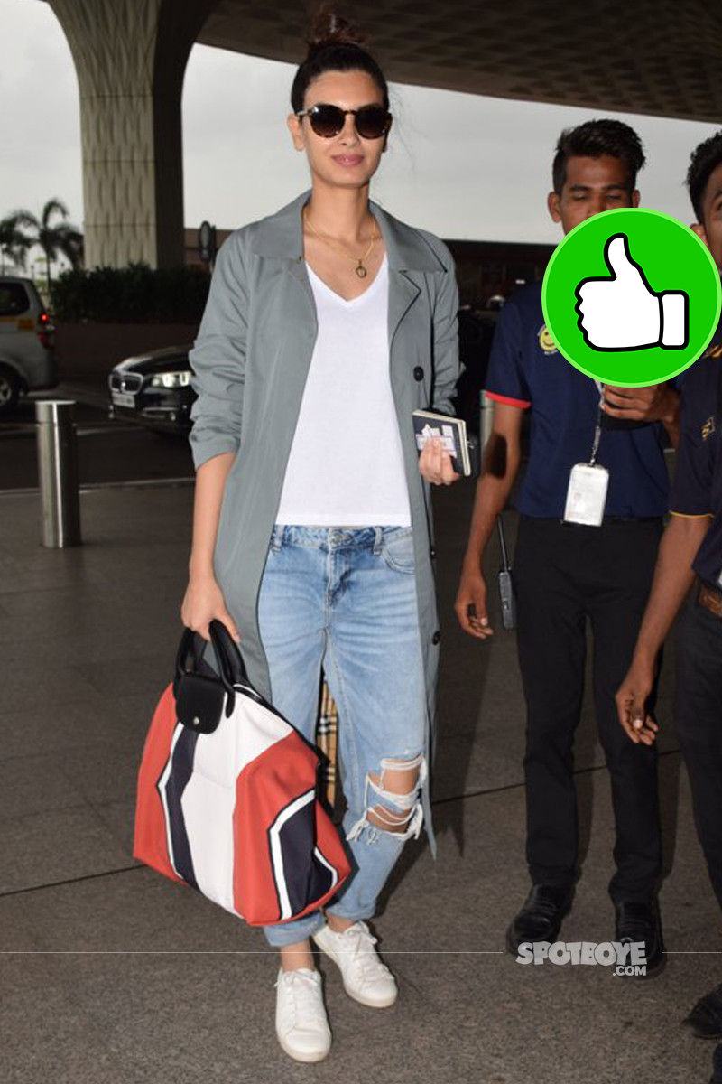 diana penty at the airport