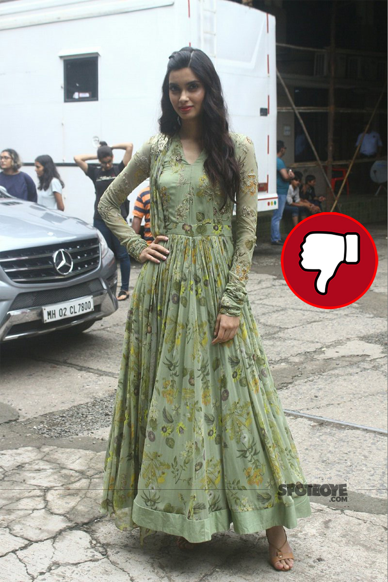diana penty snapped at promotion of lucknow central