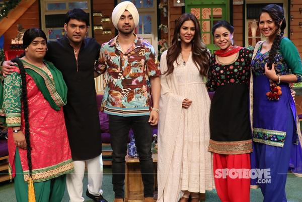 diljit dosanjh sonam bajwa on the kapil sharma show