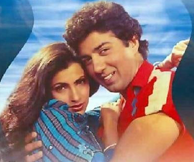 dimple kapadia and sunny deol in manzil manzil