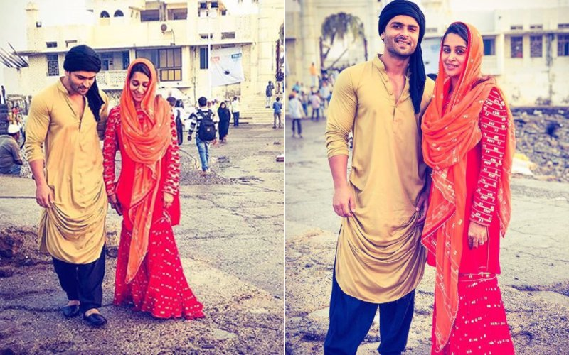 Pics: Newly Wed Dipika Kakar & Shoaib Ibrahim Seek Divine Blessings At The Haji Ali Dargah