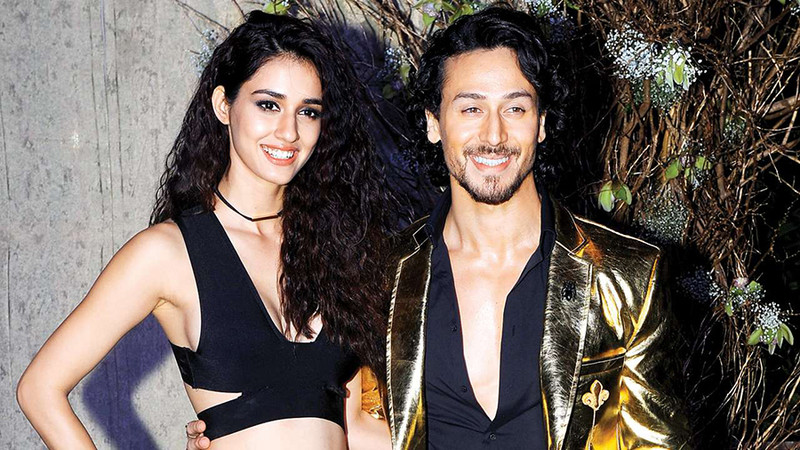 disha patani and tiger shroff are all smiles