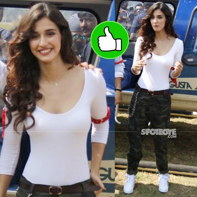 disha patani at baaghi 2 trailer launch