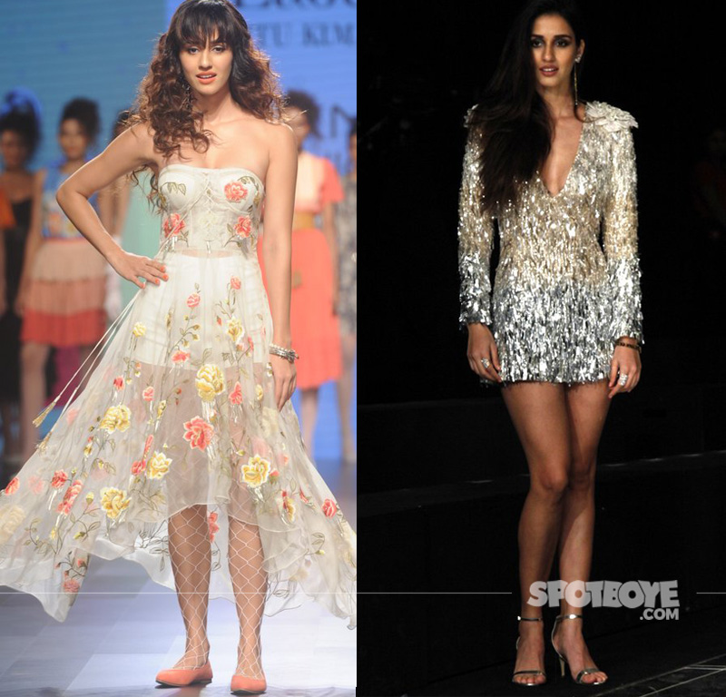 disha patani at lakme fashion week