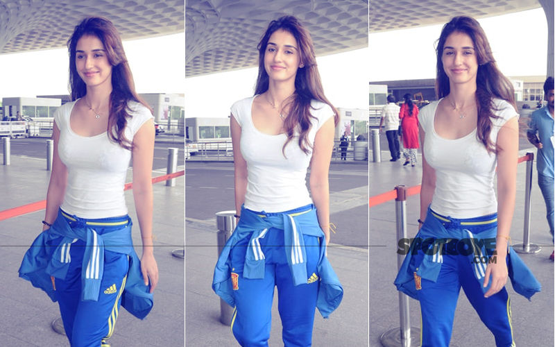 Disha Patani Is A Ray Of Sunshine In These Airport Pics