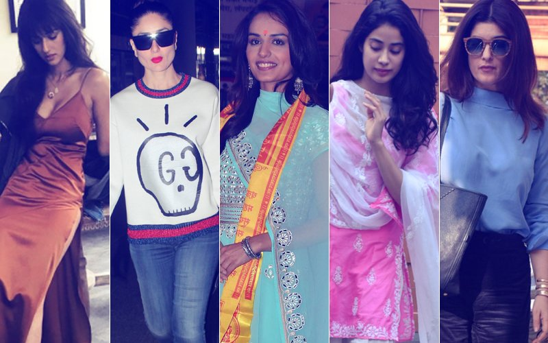 STUNNER OR BUMMER: Disha Patani, Kareena Kapoor, Manushi Chhillar, Janhvi Kapoor Or Twinkle Khanna?