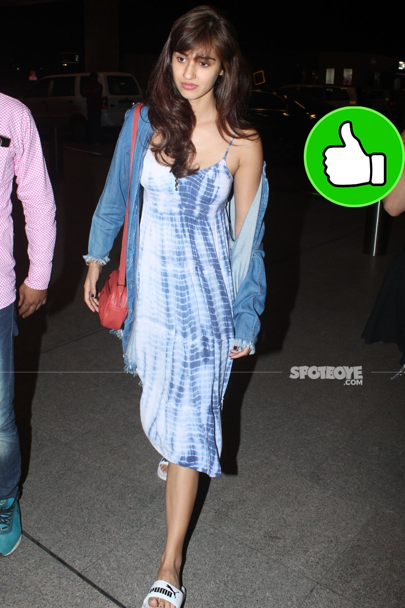 disha patani spotted at the airport