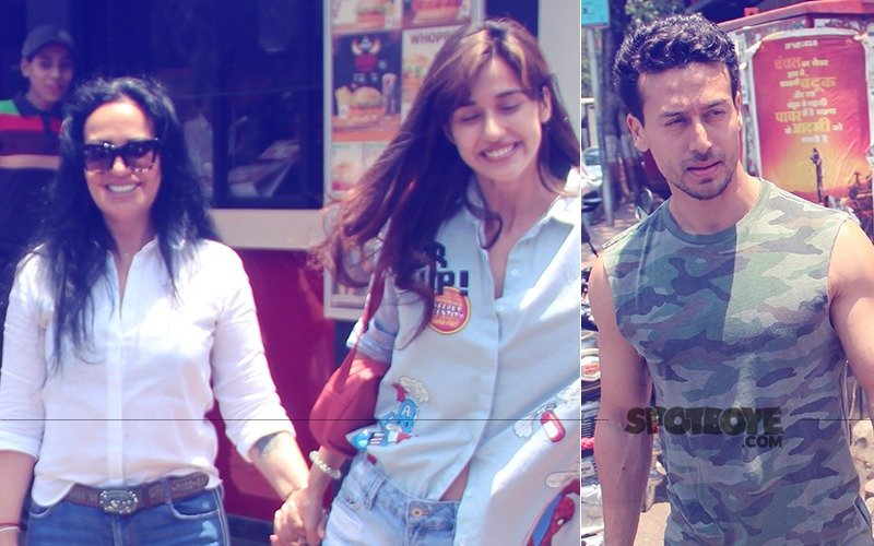Disha-Tiger Go Out For Lunch With Ayesha Shroff; Girlfriend Warming Up To Mom