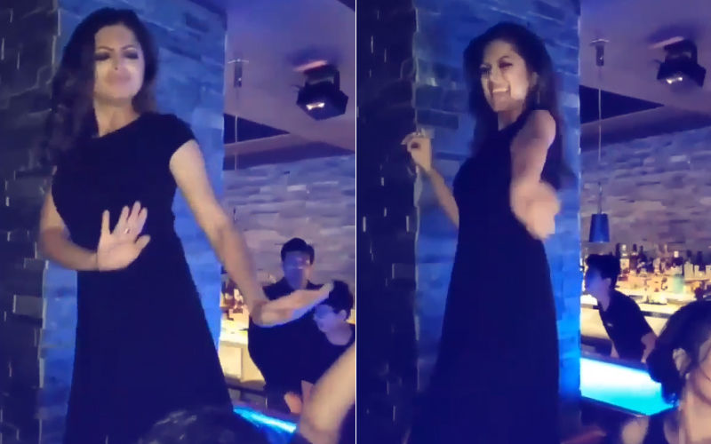 Video: Drashti Dhami's Tabletop Dance On Desi Girl- You Will Watch It Twice!