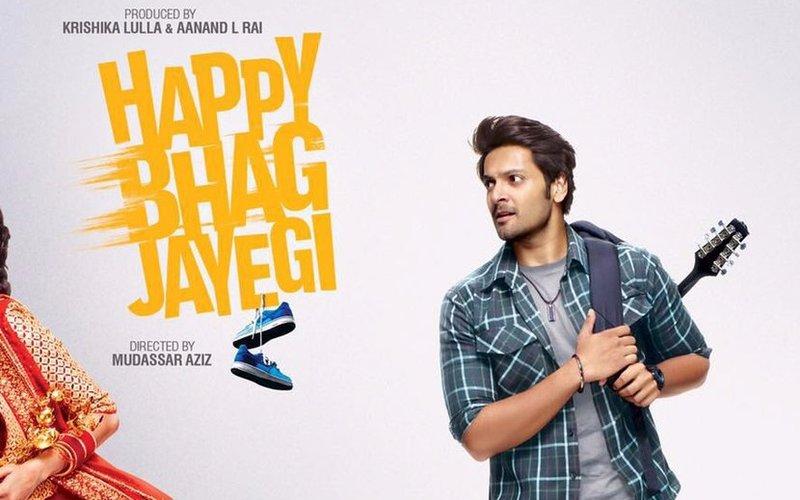 Here is Ali Fazal's look from Happy Bhag Jayegi