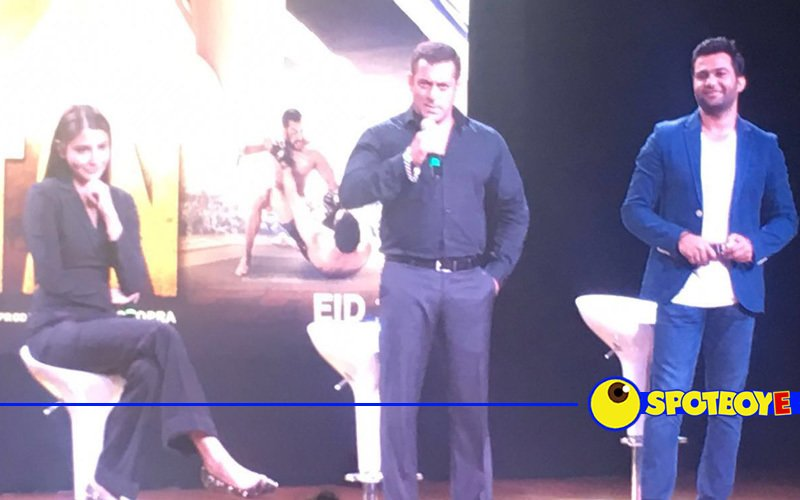 Watch all the action from Salman-Anushka's Sultan trailer launch