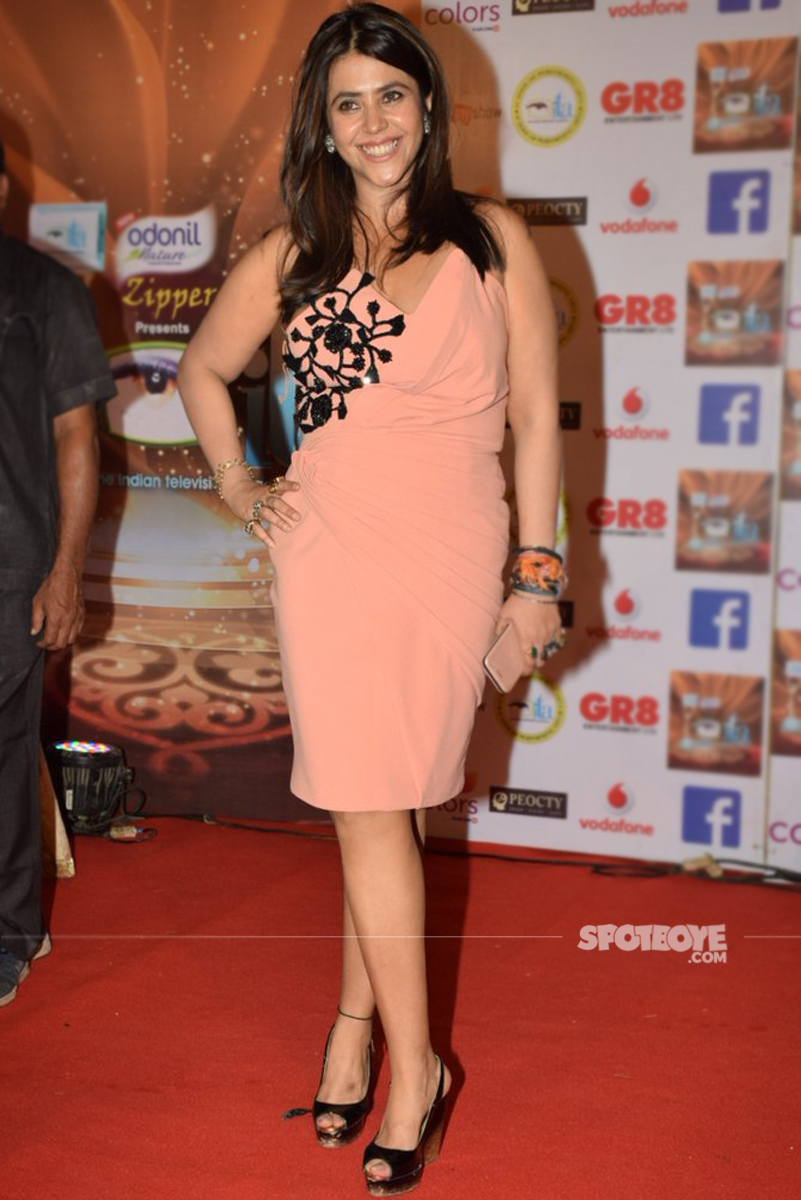 ekta kapoor at the ita awards