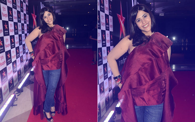 Oops! Ekta Kapoor Gets Trolled For Wearing A Mismatched Outfit