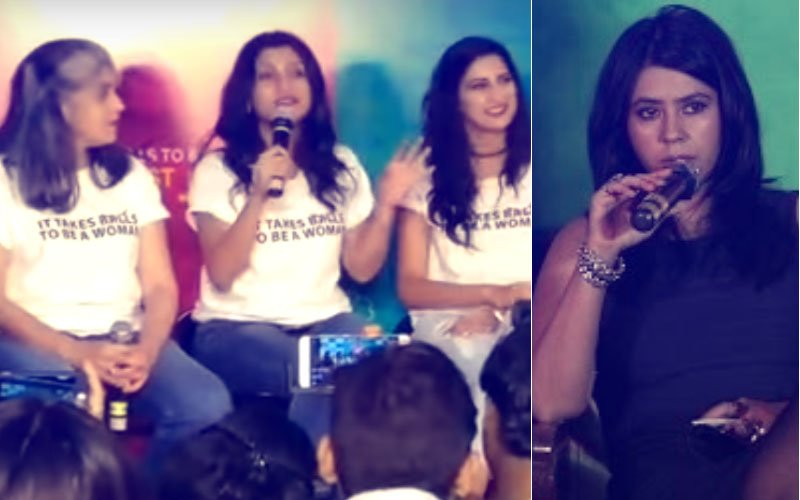 Ekta Kapoor At Lipstick Under My Burkha Trailer Launch: There Is A Difference Between Sexual Assault & Sexual Desire