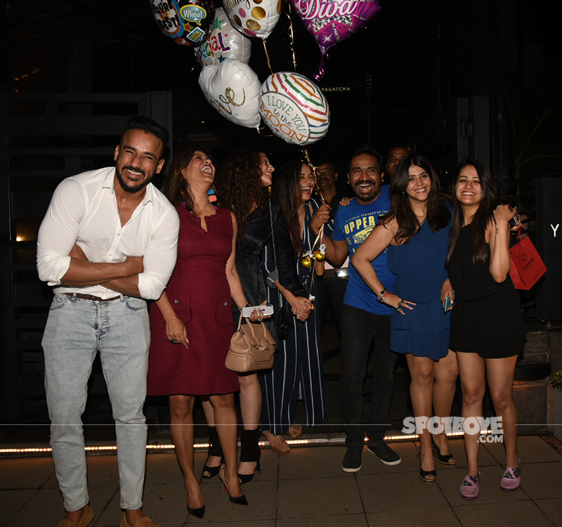 Ekta Kapoor Celebrating Birthday With Friend And Family