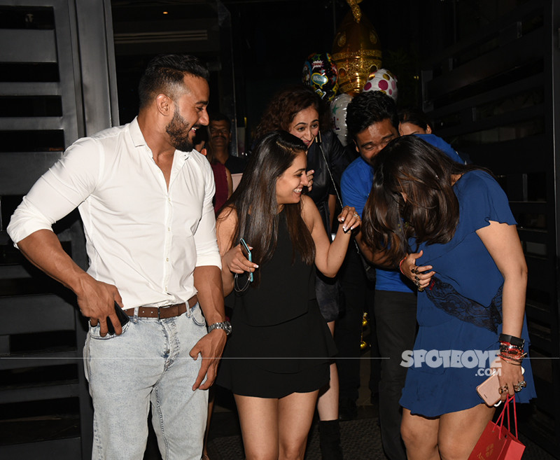 Ekta Kapoor With Friends And Family