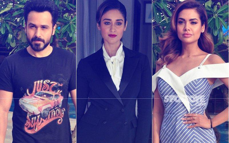 Emraan Hashmi, Ileana D'Cruz, Esha Gupta Promote Baadshaho