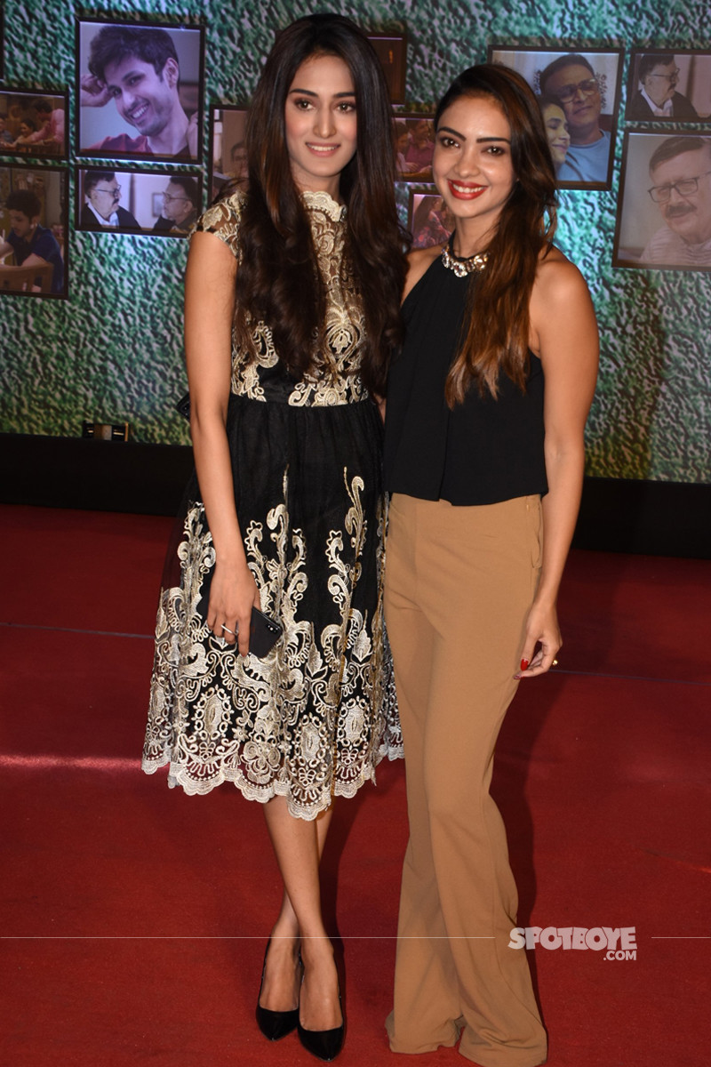 erica fernandes and pooja banerjee at the screening of home
