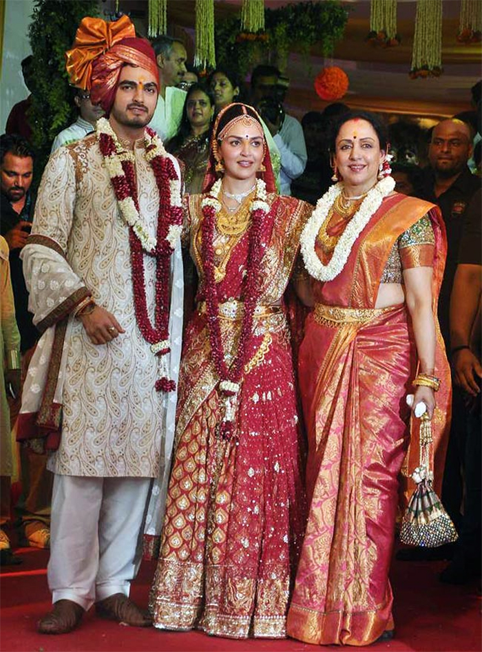 esha deol and bharat takhtani wedding pics